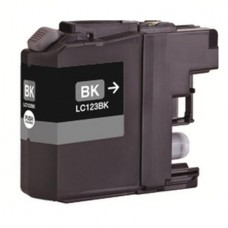 Brother LC-121 / LC-123 Zwart inktcartridge (huismerk)