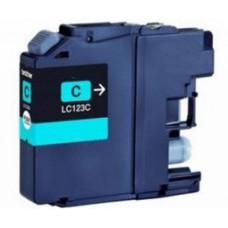 Brother LC-121 / LC-123 Cyaan inktcartridge (huismerk)