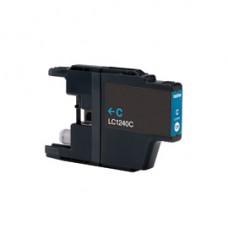 Brother LC-1220 / LC-1240 / LC-1280XL Cyaan inktcartridge (huismerk)