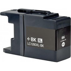 Brother LC-1280XXL Zwart inktcartridge (huismerk)
