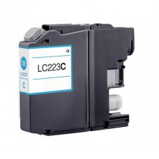 Brother LC-223 Cyaan inktcartridge (huismerk)