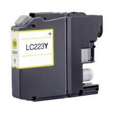 Brother LC-223 Geel inktcartridge (huismerk)