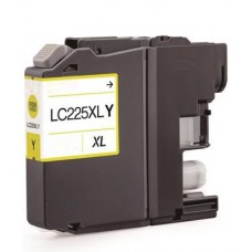 Brother LC-225XL Geel inktcartridge (huismerk)