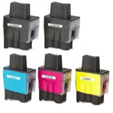 Brother LC-900 VALBP MULTIPACK + Extra Zwart inktcartridge (huismerk)