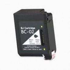 Canon BC-02 Zwart inktcartridge (huismerk)