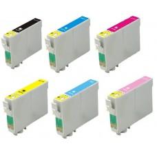 Epson T0487 (T04874010BA) MULTIPACK inktcartridge (huismerk)