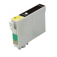 Epson T0711 (T071140) / T0891 (T08914010) Zwart inktcartridge (huismerk)