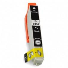 Epson 24XL (T2431) Zwart inktcartridge (huismerk)