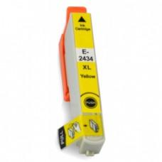 Epson 24XL (T2434) Geel inktcartridge (huismerk)