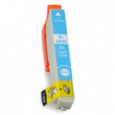 Epson 24XL (T2435) Licht Cyaan inktcartridge (huismerk)