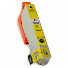 Epson 26XL (T2634) Geel inktcartridge (huismerk)