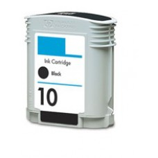 HP 10 (C4844A) Zwart inktcartridge (huismerk)