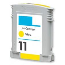 HP 11 (C4838A) Geel inktcartridge (huismerk)