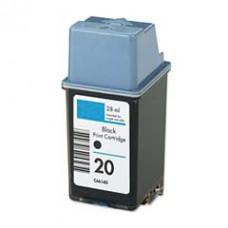 HP 20 (C6614A) Zwart inktcartridge (huismerk)