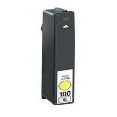 Lexmark 100XL (14N1071E) Geel inktcartridges (huismerk)