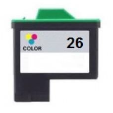 Lexmark 26/27 / Dell T0530 Kleur inktcartridges (huismerk)